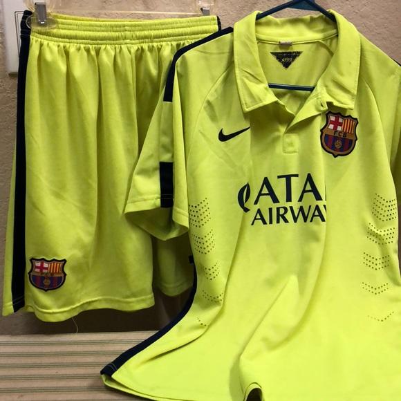 cd955590641 Barcelona soccer short set Messi. M 5b16f863c9bf50c65aac9004